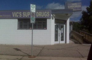 Vic's Super Drugs, 149 Street, Edmonton